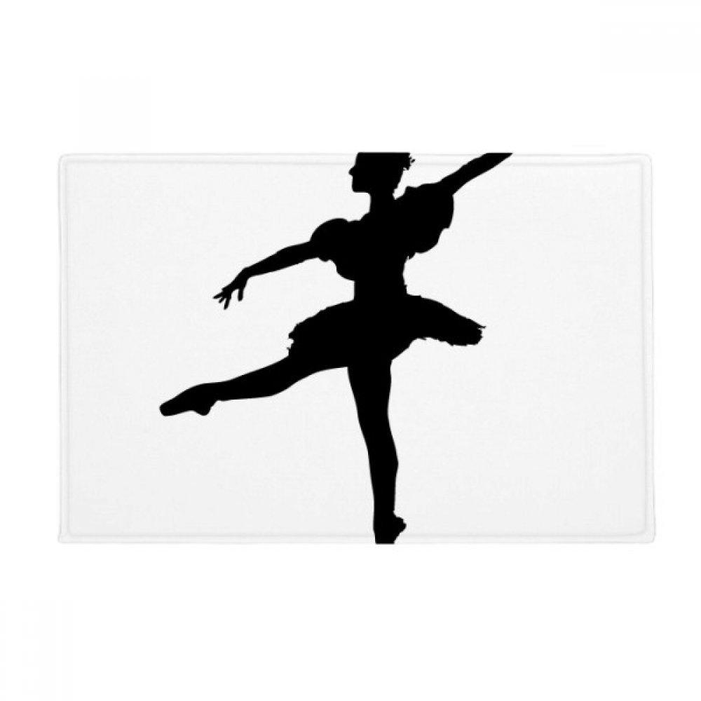 Dance Dancer Ballet Art Sports Anti-slip Floor Mat Carpet Bathroom Living Room Kitchen Door 16''x30''Gift