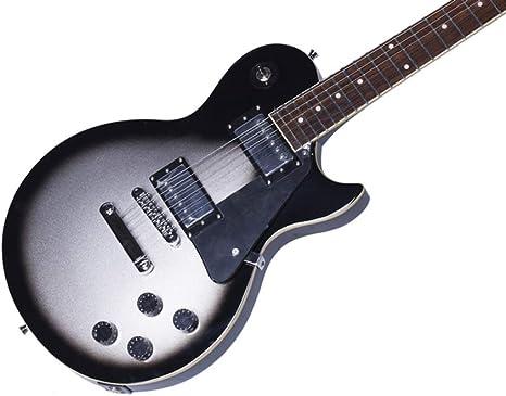 Miiliedy Black Circle Silver Desert Color Guitarra eléctrica LP ...
