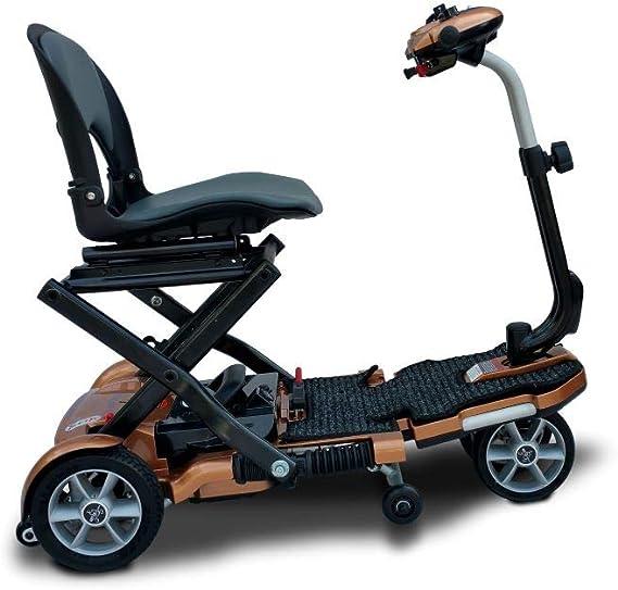 Amazon.com: EV Rider - Patinete plegable de transporte, Rojo ...