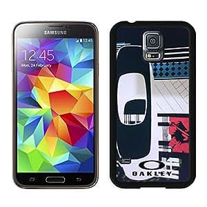 Fashion Designed Cover Case For Samsung Galaxy S5 I9600 G900a G900v G900p G900t G900w With Oakley 9 Black Phone Case