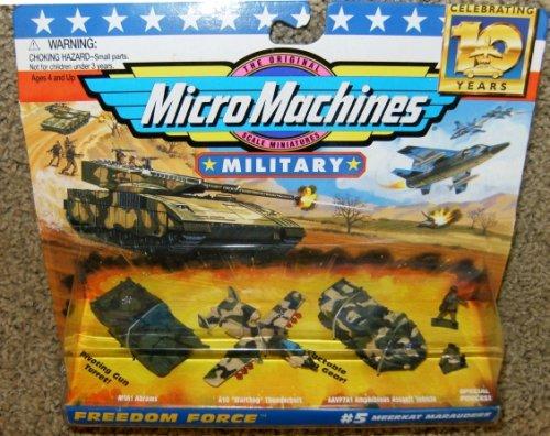 Micro Machines Military Meerkat Marauders #5 Collection