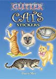 img - for Glitter Cats Stickers (Dover Little Activity Books Stickers) book / textbook / text book