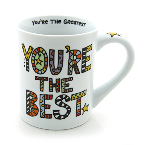 You're The Best 16-ounce Coffee Mug from Our Name Is Mud