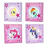 My Little Pony Canvas Wall Art (4-Piece) Picture