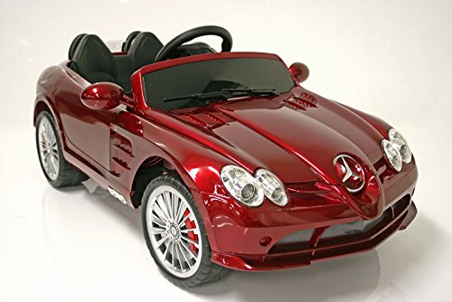 Mercedes benz slr 722s kids 6v electric ride on w remote for Mercedes benz kids car
