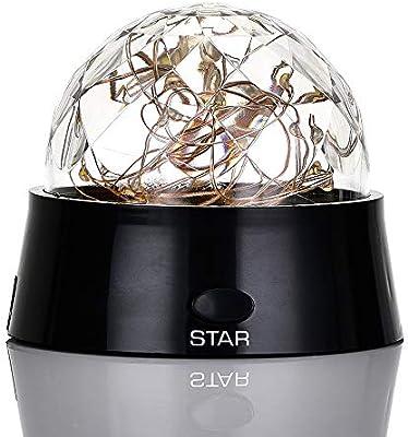 Weehey Luz de la Noche Estrellada Romántica del Proyector de la ...