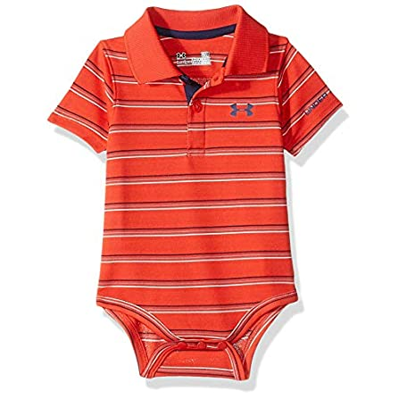 NEW BOY/'S FADED GLORY RED ROVER HORIZONAL STRIPES S//S  2 BUTTON POLO SHIRT #11