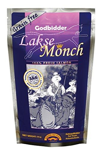 Monch 100% Fresh Salmon Cat Treats (Salmon Kronch Lakse)