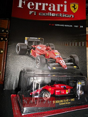 Ferrari F1 Collection F1-87 Berger Modellino + fas. Fabbri DIE CAST ...