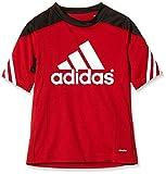 adidas Kinder Trikot/Teamtrikot Fußball bekleidung Sere14 Training, power rot/schwarz/Weiß, 116, D82939