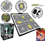 DDR Multi-Platform Super Sensors Energy Super Deluxe Dance Pad (PS, PS2, XBox, PC, Mac) with DDR Game Ultramix 2 (XBOX)