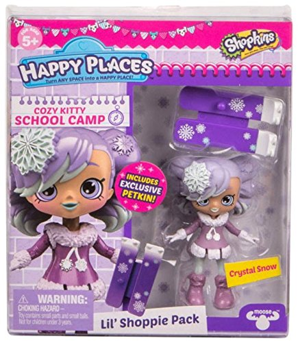 Crystal Snow Cozy Kitty School Camp Shopkins Happy Places Doll 3