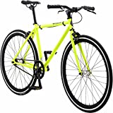 Pure Fix Glow in the Dark Fixed Gear Single Speed Bicycle, Kilo Glow Yellow/Black, 43cm/XX-Small