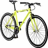 Pure Fix Glow in The Dark Fixed Gear Single Speed Bicycle, Kilo Glow Yellow/Black, 43cm/XX-Small