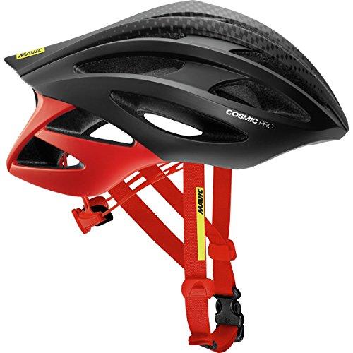 Mavic Cosmic Pro Helmet Black Fiery Red, L