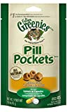 FELINE GREENIES PILL POCKETS Natural Cat Treats Chicken Flavor, 1.6 oz. Pack (45 Treats)