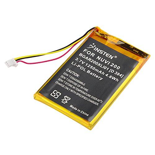Cta Camera Battery (Insten Compatible Li-ion Battery for Garmin Nuvi 200)