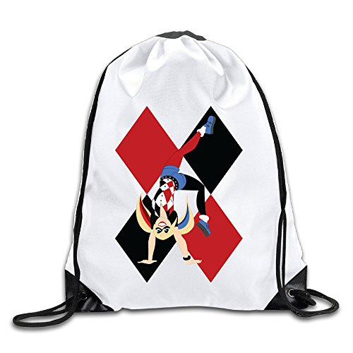 LHLKF Harley Quinn One Size Personality Drawstring Bags