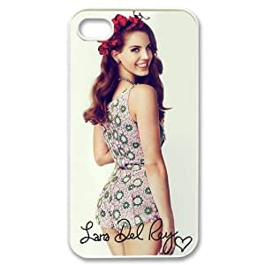 Lana Del Rey Design TPU Protective Cover Case For Iphone 4 4s iphone4s-82319