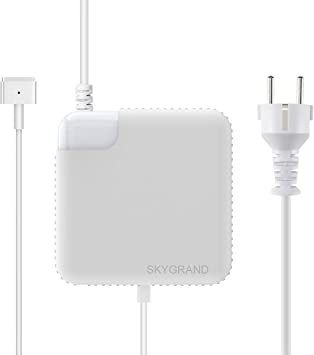 Cargador Macbook Air, SkyGrand Adaptador de potencia MagSafe 2 de ...