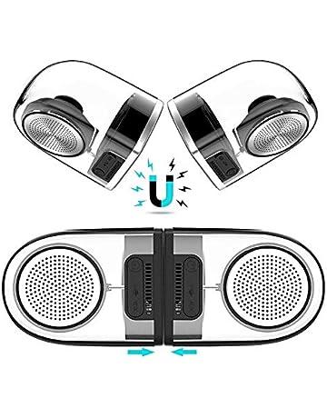 Magnetic Speaker Waterproof TWS Bluetooth Speakers True Wireless Surround  Sound Outdoor Portable Speaker 18-Hours 11c34641662d5