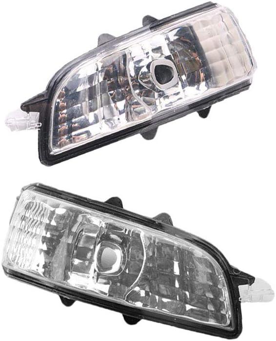 For 2007-2011 Volvo S40 V50 Door Mirror Turn Signal Lamps Lights Lens 31111090