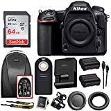 Nikon D500 DX-Format DSLR Camera (Body) + 64GB Card + Backpack + Battery + Bundle
