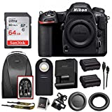 Nikon D500 DX-Format DSLR Camera (Body) + 64GB Card + Backpack + Battery + Bundle Review