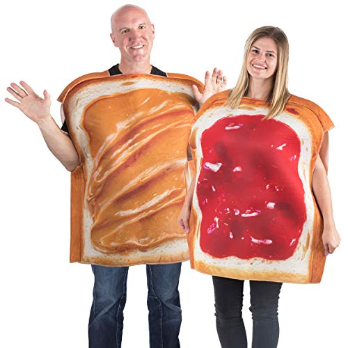 Cradle Robber Couple Costumes - Tigerdoe Peanut Butter & Jelly Costume