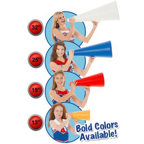 Cheerleading Company Color Plastic Megaphone product image