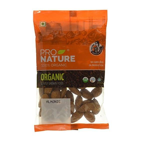 Pro Nature 100% Organic Almonds, 100g