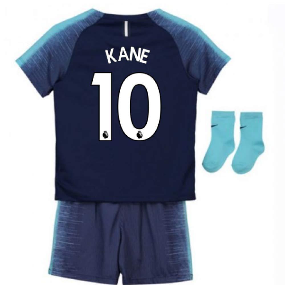 UKSoccershop 2018-2019 Tottenham Away Nike Baby Kit (Harry Kane 10)