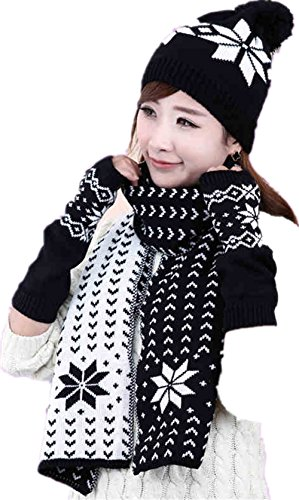 Winter Girls Gloves Knitted Mitten product image