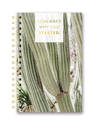 Studio Oh! Hardcover Medium Spiral Notebook Available in 9 Designs, A Closer Look Remember Why You Started