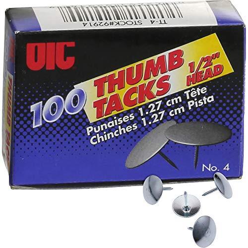 Officemate International Corp. 92914 Thumb Tacks, 1/2