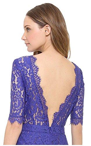 Kleid Damen Blau Schlauch Königsblau Blau Blau Drasawee EaqHwnpE