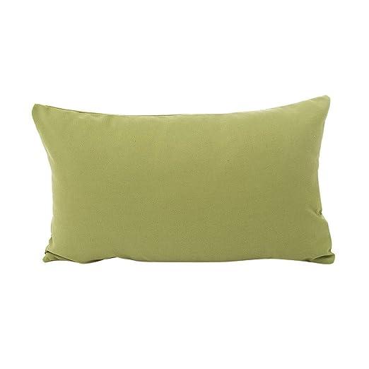 showsing-pillow Funda de cojín de poliéster y algodón ...