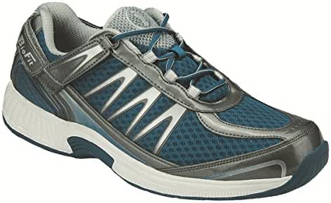 Orthofeet Best Plantar Fasciitis, Diabetic Shoes. Extended Widths. Proven Relief of Foot and Heel Pain. Top Orthopedic Men's Sneakers, Sprint