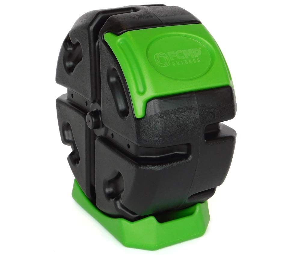 FCMP Outdoor Rolling Composter, 2.5 cu ft (Green)