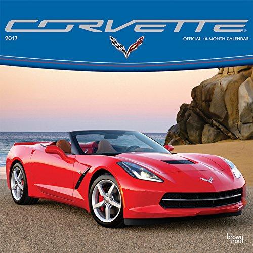 Corvette - 2017 Calendar 12 x 12in