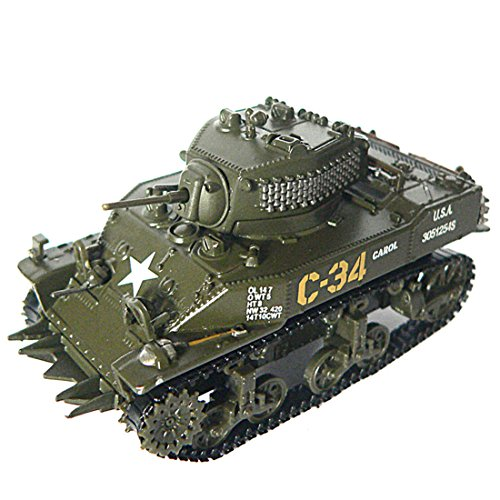 Panzerkampf 1:72 Scale Diecast Model M5A1 Stuat(Normandy)-1944 Tank Toy (PN:12030)