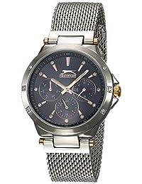 Reloj Slazenger Silver Collection para Mujer 35mm, pulsera de Acero Inoxidable
