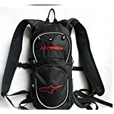 2L Water Bladder Bag Hydration Package Hiking Camping Waterproof Cycling Bicycle Bike Shoulder Backpack Ultralight Sports Outdoor Riding Travel Hydration Water Bag (Red)