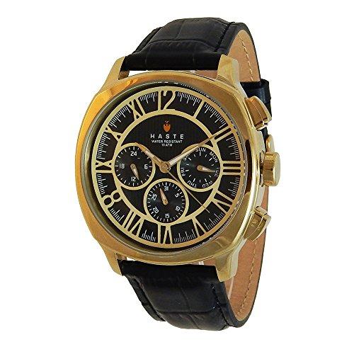 Haste 142127652 Reloj Análogo para Hombre, Resistente al Agua 10 ATM