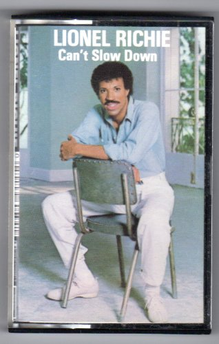 Lionel Richie Can't Slow Down 1983 Motown Record Corp. Audio Cassette Tape.