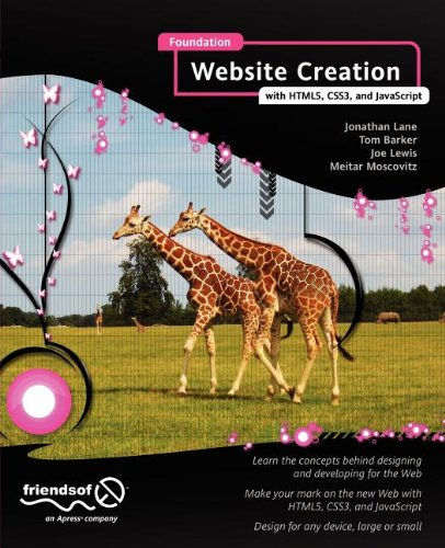 [PDF] Foundation Website Creation with HTML5, CSS3, and JavaScript Free Download | Publisher : friendsofED | Category : Computers & Internet | ISBN 10 : 1430237899 | ISBN 13 : 9781430237891