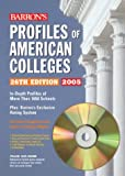 Profiles of American Colleges, , 0764175750