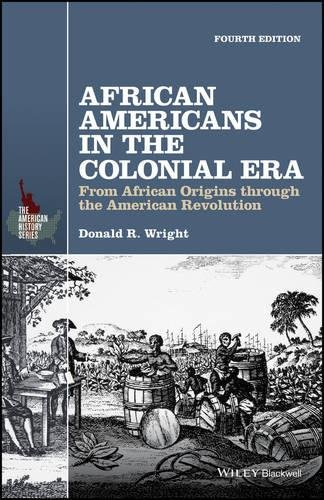 Search : African Americans in the Colonial Era: From African Origins through the American Revolution (The American History Series)
