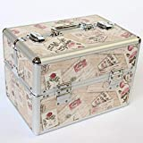 Jwelry Making Storage: Hot Sale Multi Colours Make Up Organizer,Makeup Storage Box Suitcase,Women Jewelry Box Large Containers,Organizer for Cosmetics