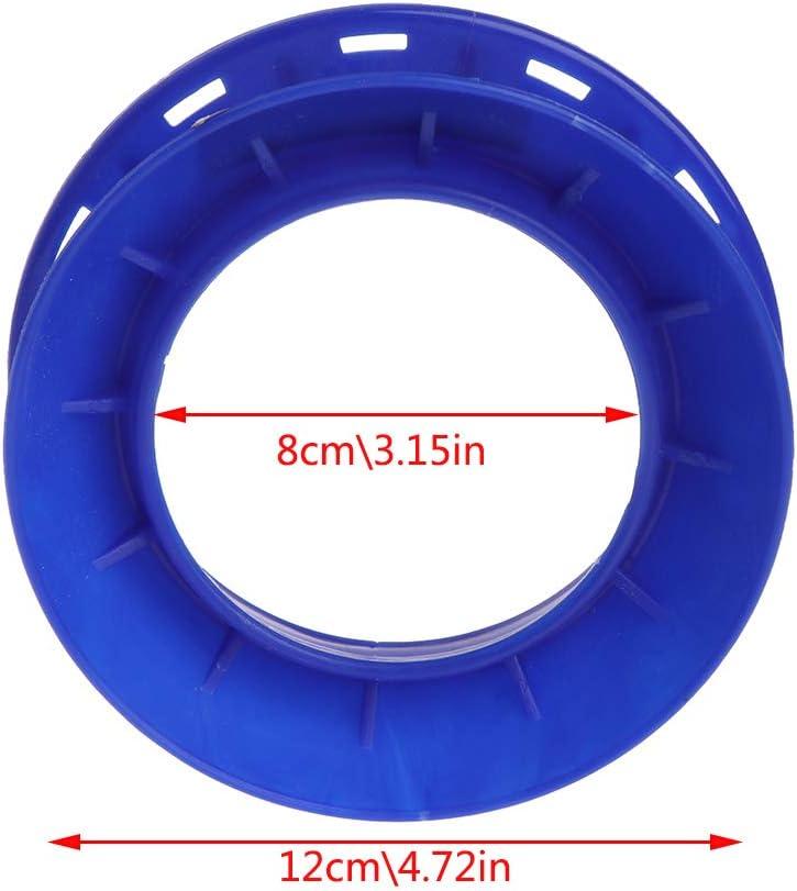 CADANIA Ligne de p/êche Plaque denroulement Poign/ée en Plastique Enroulement de Fil Panneau de Bobine Principal Circulaire